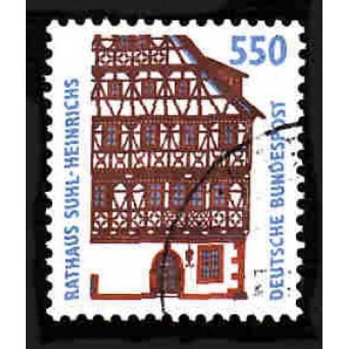 German Used Scott #1857 Catalog Value $2.40