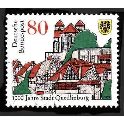 German Used Scott #1873 Catalog Value $.40