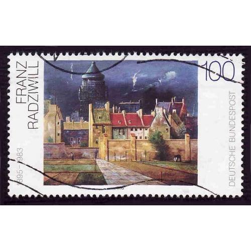 German Used Scott #1878 Catalog Value $.40