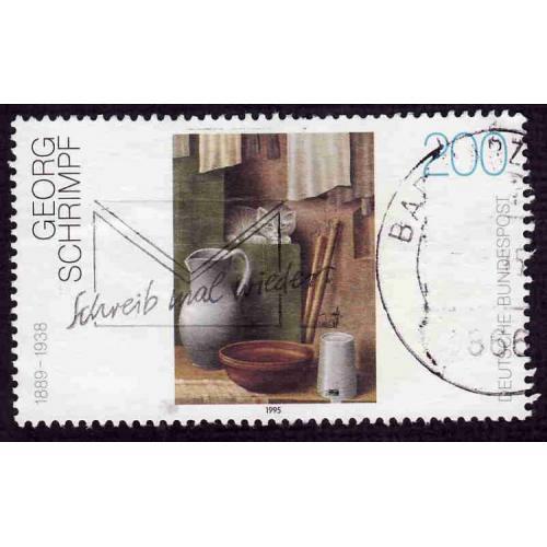 German Used Scott #1879 Catalog Value $1.00