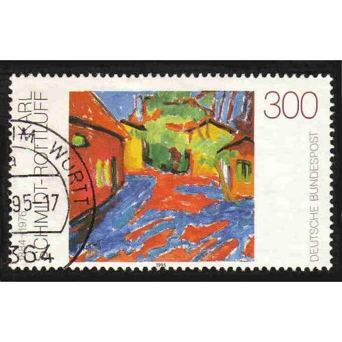 German Used Scott #1880 Catalog Value $1.50
