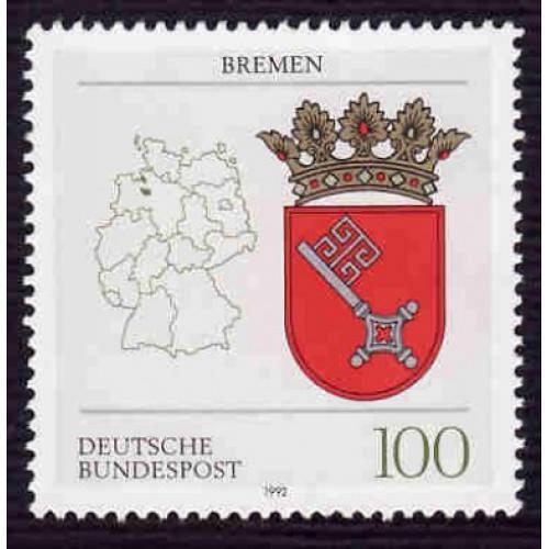 German MNH Scott #1703 Catalog Value $1.50