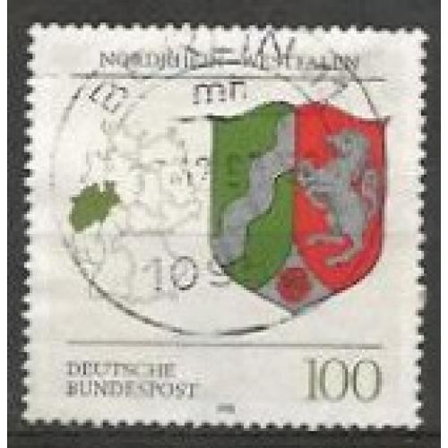 German Used Scott #1708 Catalog Value $.70