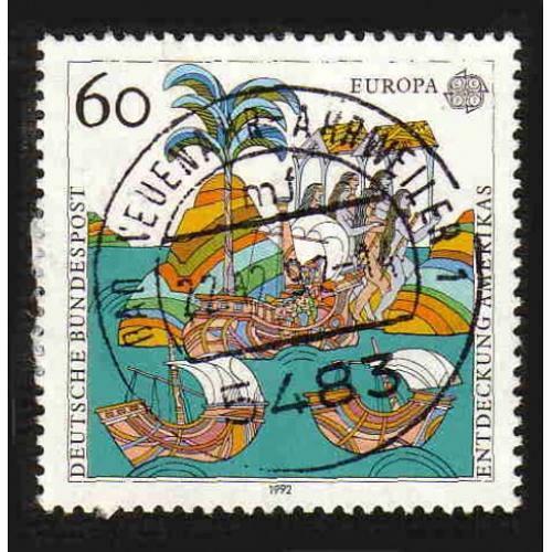 German Used Scott #1744 Catalog Value $.40