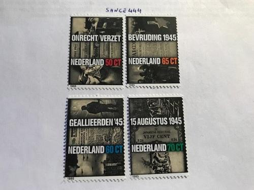 Netherlands World war II mnh 1985