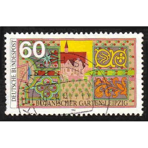 German Used Scott #1753 Catalog Value $.50