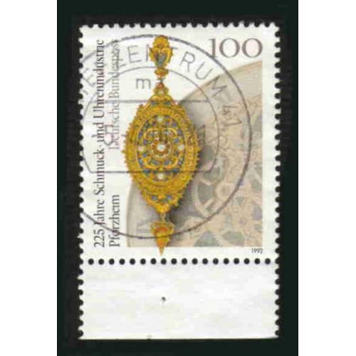 German Used Scott #1762 Catalog Value $.40