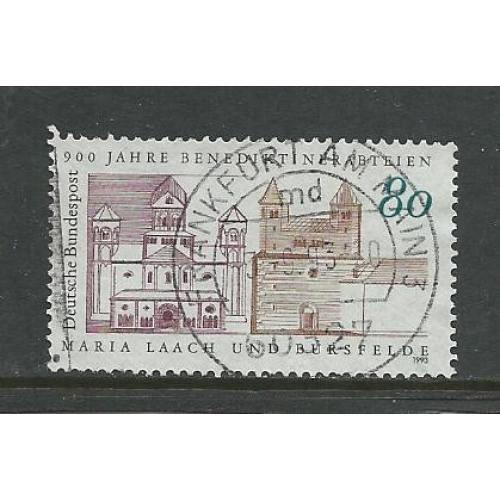German Used Scott #1781 Catalog Value $.60