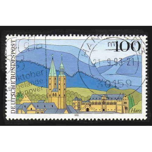 German Used Scott #1794 Catalog Value $.75
