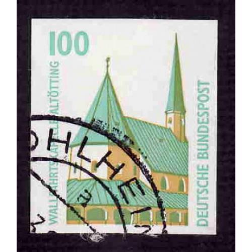 German Used Scott #1663 Catalog Value $2.40