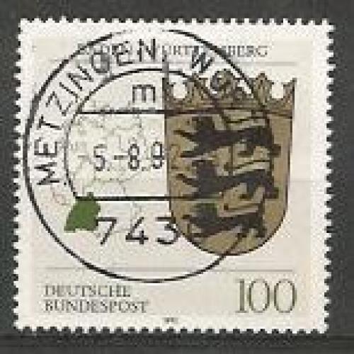 German Used Scott #1699 Catalog Value $.70