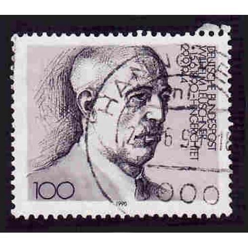 German Used Scott #1606 Catalog Value $.60