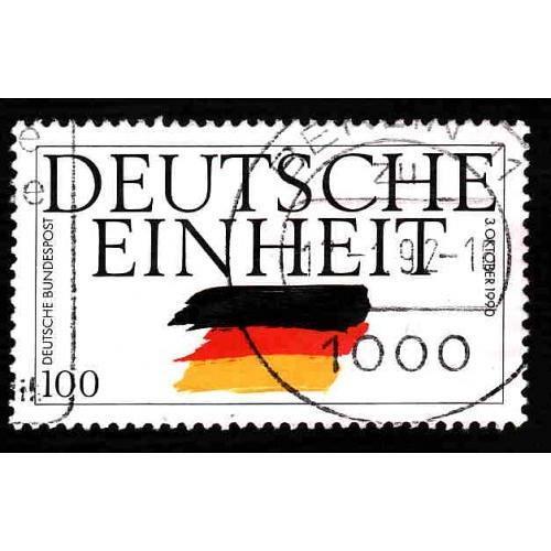 German Used Scott #1613 Catalog Value $.50