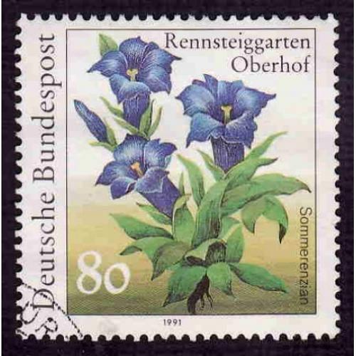 German Used Scott #1632 Catalog Value $.35