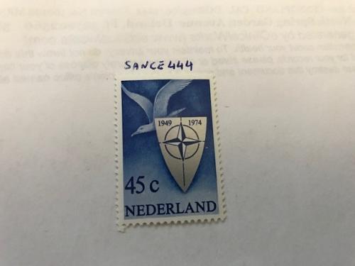 Netherlands Seagull Peace mnh 1974