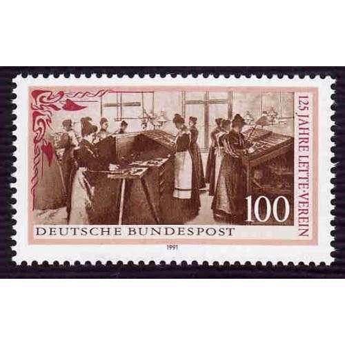 German MNH Scott #1637 Catalog Value $1.40