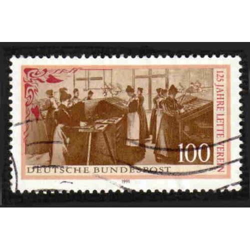 German Used Scott #1637 Catalog Value $.45