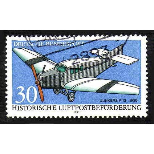 German Used Scott #1638 Catalog Value $.35