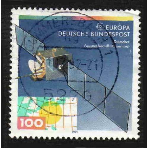 German Used Scott #1643 Catalog Value $.40