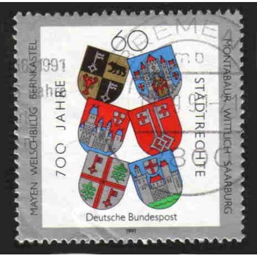 German Used Scott #1644 Catalog Value $.45