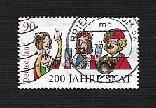 German Used Scott #2747 Catalog Value $1.25