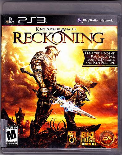 Kingdoms of Amalur - Reckoning - Sony PlayStation 3, 2012 Video Game - Very Good