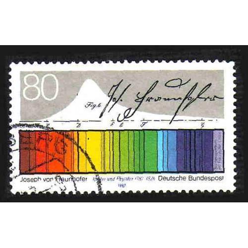 German Used Scott #1501 Catalog Value $.45
