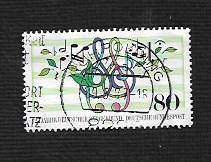 German Used Scott #1504 Catalog Value $.45