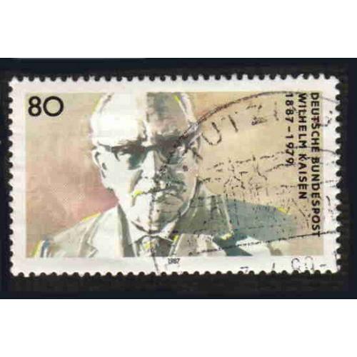 German Used Scott #1508 Catalog Value $.45