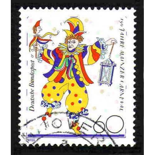 German Used Scott #1544 Catalog Value $.45