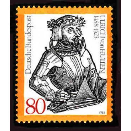 German MNH Scott #1551 Catalog Value $1.25