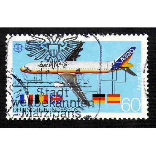 German Used Scott #1552 Catalog Value $.45