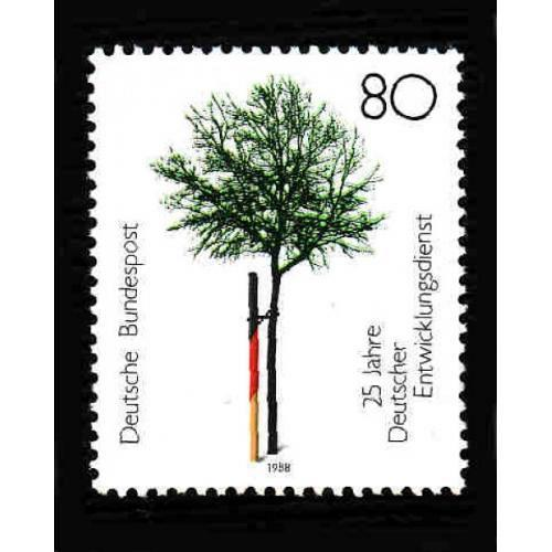 German MNH Scott #1558 Catalog Value $1.25