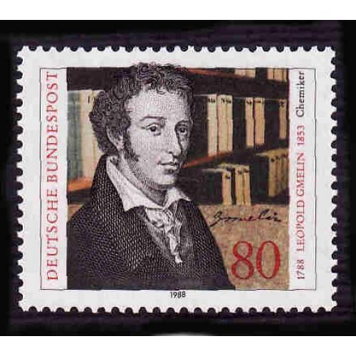 German MNH Scott #1560 Catalog Value $1.00