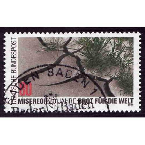 German Used Scott #1570 Catalog Value $.45
