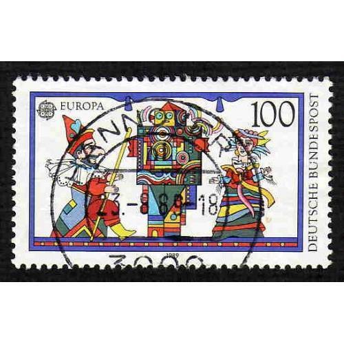 German Used Scott #1574 Catalog Value $.40