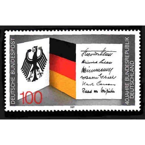 German MNH Scott #1577 Catalog Value $1.90