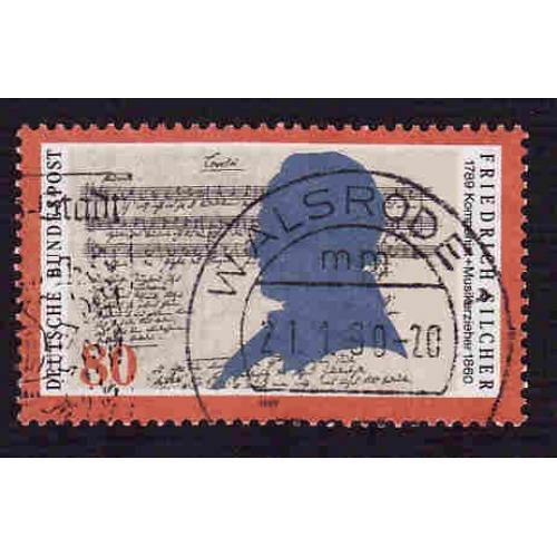 German Used Scott #1581 Catalog Value $.45