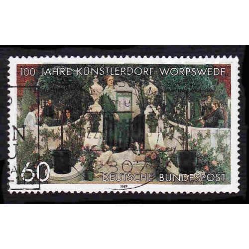 German Used Scott #1584 Catalog Value $.45
