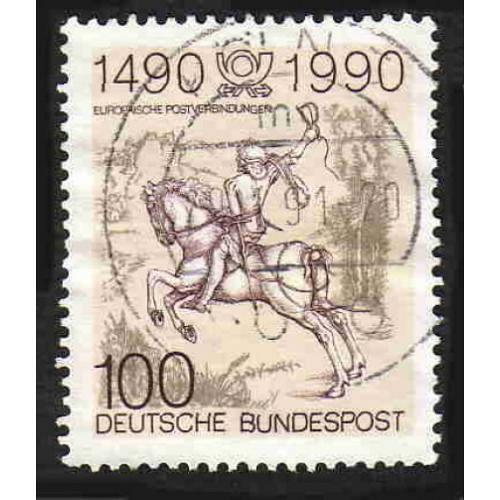 German Used Scott #1592 Catalog Value $.60