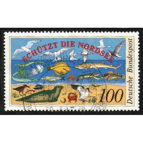 German Used Scott #1598 Catalog Value $.60