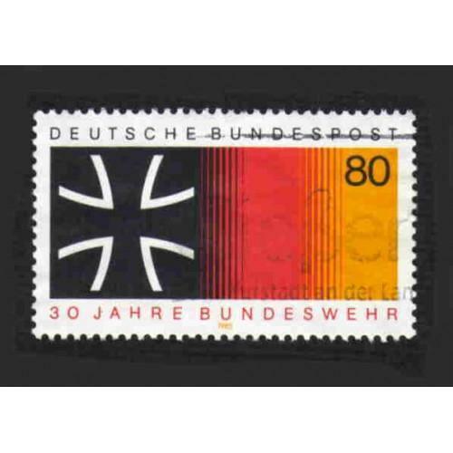 German Used Scott #1452 Catalog Value $.45
