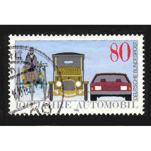 German Used Scott #1453 Catalog Value $.45