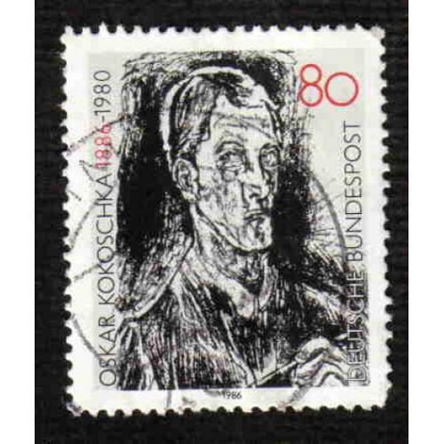 German Used Scott #1455 Catalog Value $.45