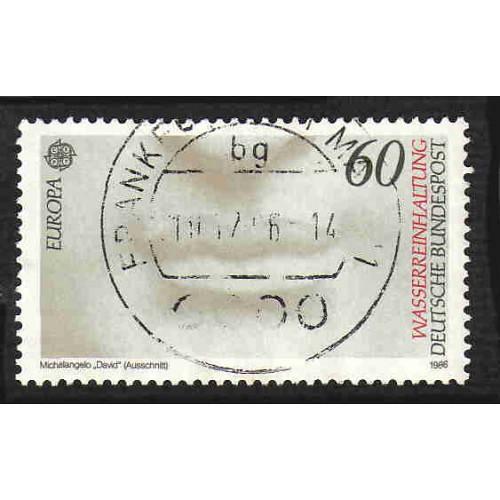 German Used Scott #1457 Catalog Value $.40