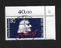 German Used Scott #1464 Catalog Value $.45