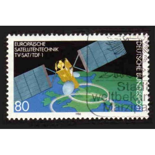 German Used Scott #1467 Catalog Value $.50
