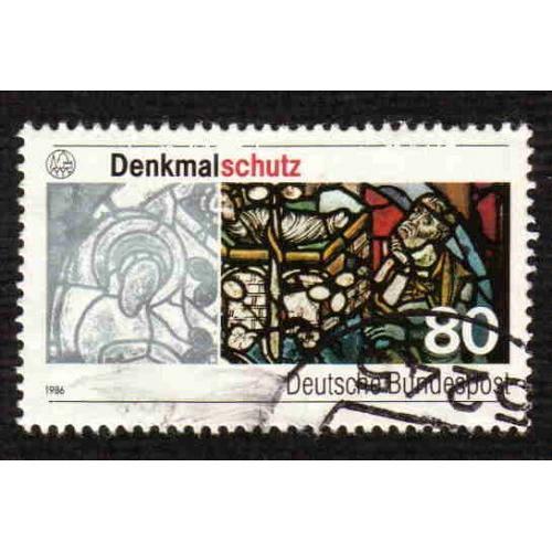 German Used Scott #1468 Catalog Value $.45