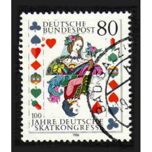 German Used Scott #1470 Catalog Value $.45