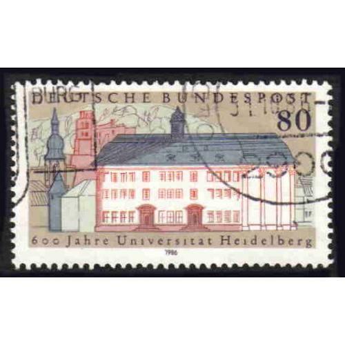 German Used Scott #1472 Catalog Value $.45
